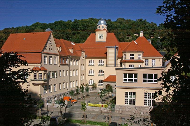 Modernisierung Goetheschule Greiz