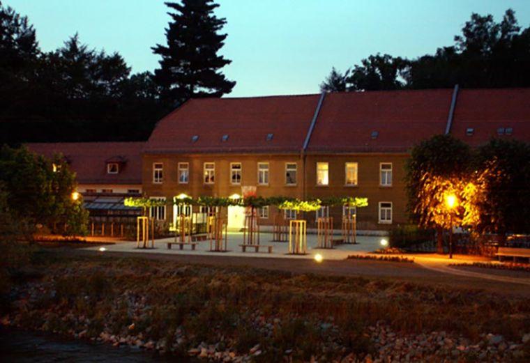 Neugestaltung Parkeingang Greiz