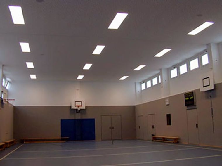Modernisierung Turnhalle Rückersdorf Elektrotechnik